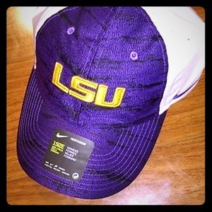LSU Tigers Nike Dri Fit Women's Hat Cap adjustable